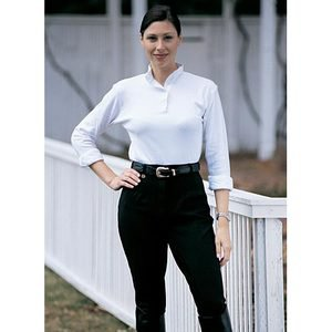 On Course Cotton NaturalsÖ ShapelyÖ Full-Seat Breeches