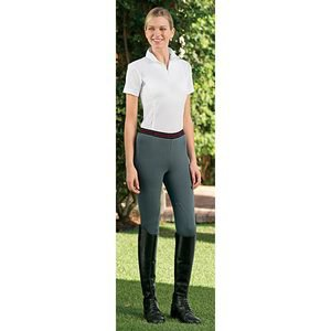 On Course Cotton Naturals? Schooler Riding Tights