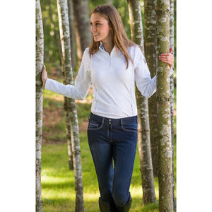 RIDING SPORT DARK DENIM BREECH
