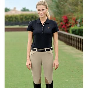 Custom Riding Apparel Comfort Ride Side-Zip Riding Breeches