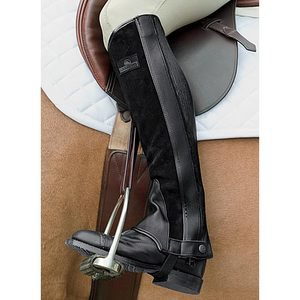 Grand Prix Suede Leather Half Chaps