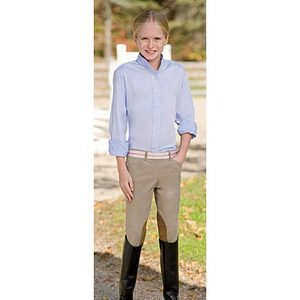 Childrens TS Side Zip Low-Rise Riding Breeches