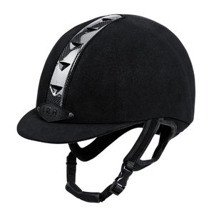 IRH ATH Black/Clear Riding Helmet