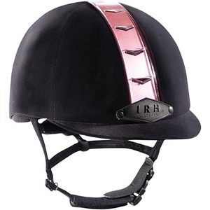 IRH ATH DFS Riding Helmet with Interchangeable Strips