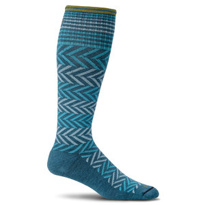CHEVRON COMPRESSION SOCK
