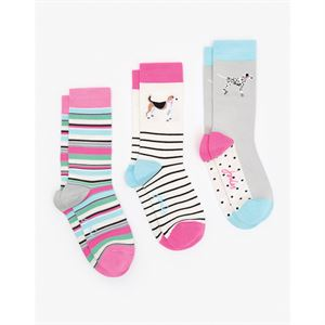 BRILLIANT BAMBOO 3PK SOCKS SET