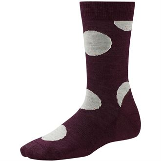 POLK-A-DOT CREW SOCK