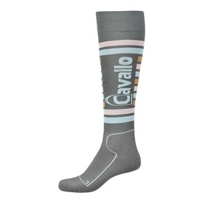 CAVALLO STRIPE BOOT SOCK