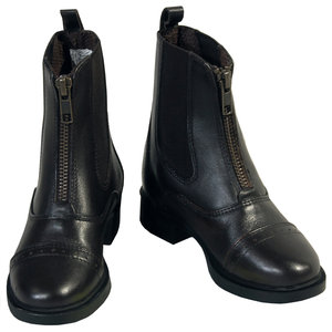 Childrens Zip  Paddock Boot