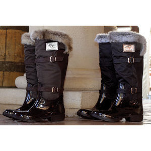 Goode Rider™  Fur Rubber Wellies