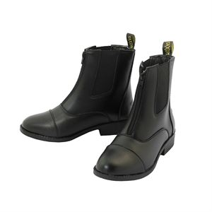 Ladies Saxon Equi-Leather? Zip Paddock Boot