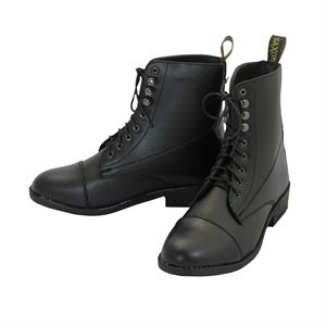 Ladies Saxon Equi-Leather Lace Paddock Boot