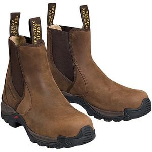 Mountain Horse® Peak Protector Paddock Boots with Steel Toes