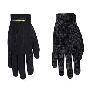 Heritage Power Grip Nylon Riding Gloves