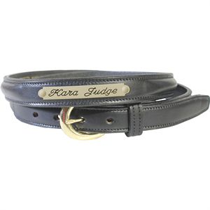 SINGLE NAMEPLATE BELT