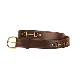 Tory Leather 1 1/2&quote; Snaffle Bit Belt