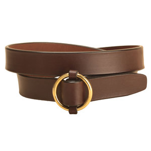 Brass Ring Buckle Belt