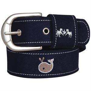 EQNE CTRE WHALES SUEDE BELT