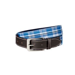 HUNTFIELDS PLAID BELT