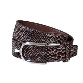 ARIAT RADIANT RVSBL BELT BROWN