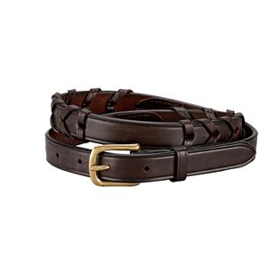 HORSEFARE PLAIN LACE BELT