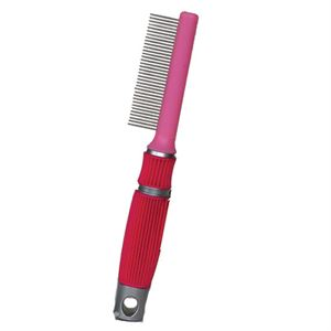 SOFT TOUCH METAL TOOTH COMB