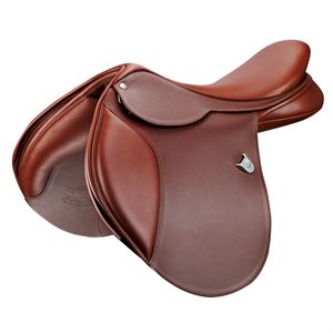 Test Ride - Bates Close Contact Saddle, Long Flap, Dark Brown
