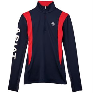 ARIAT SUNSTOPPER TEAM 1/4 ZIP