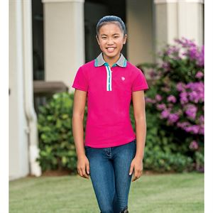 ARIAT GIRLS FASHION POLO