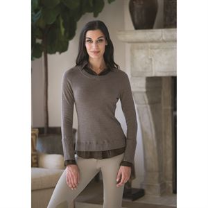 GOODE RIDER LAYERED SWEATER
