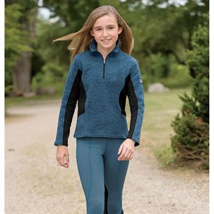 KERRITS KIDS POCKET ZIP NECK