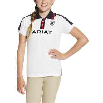 ARIAT GIRLS TEAM POLO