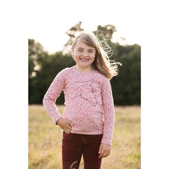 HORSEWARE GIRLS LONGSLEEVE TOP