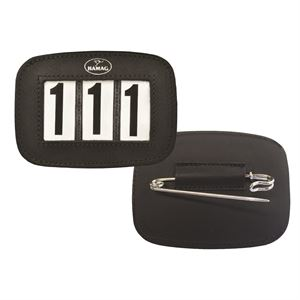 HAMAG SADDLE PAD NUMBER HOLDER