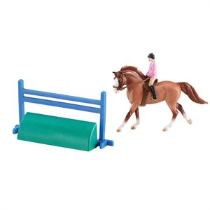 STBLMTS HORSE AND RIDER 2PC ST