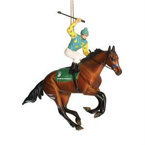 BREYER AMERICAN PHAROAH ORNAMT