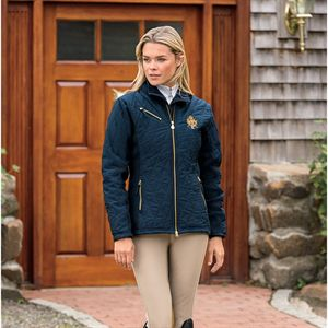 MT HORSE EQUINE QUILTED JACKET
