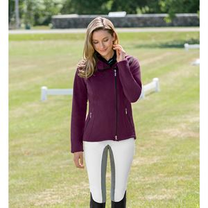 ARISTA BOX FLEECE JACKET