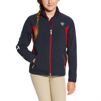 ARIAT KIDS TEAM SFTSHL JACKET