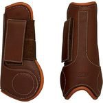 Dover Premier Leather Open Front Horse Boots