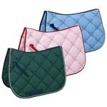 Riders International Floral-Stitched Saddle Pad