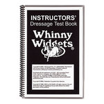 Whinny Widgets Instructors Dressage Test Book 2011