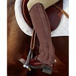 Riding Sport Suede Half Chaps