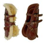 Pessoa Fleece Lined Open Front Horse Boots