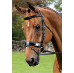 Vespucci Patent Leather Weymouth Bridle
