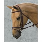 Vespucci Plain Raised Flash Bridle
