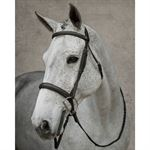 Dover Saddlery Everyday Wide Nose Hunter Bridle