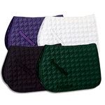 RiderÆs International Cotton Scroll Saddle Pad