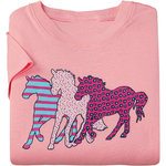 ARIAT GIRLS 3 HORSES TEE