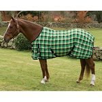 Centaur EZ Care Plaid Stable Sheet